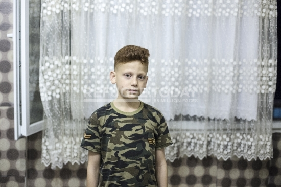 Syrian child worker in Istanbul