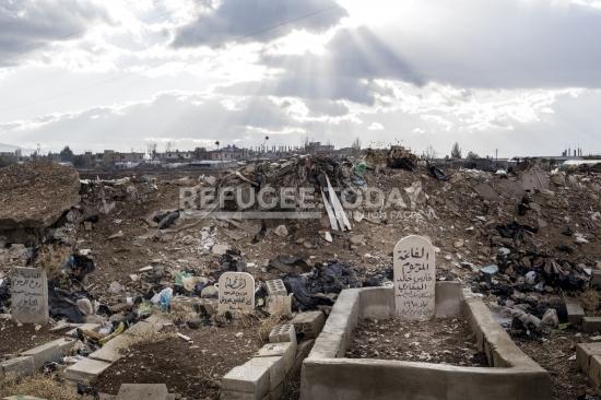 Syrian churchyard